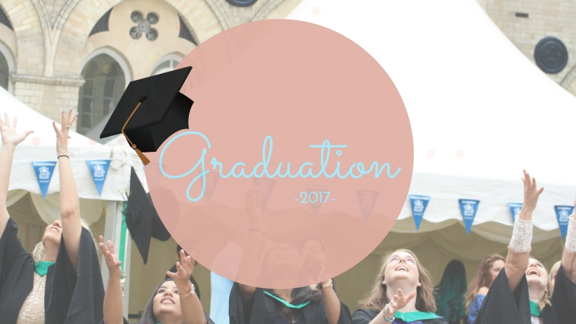 Nottingham Trent Graduation Header created by Canva